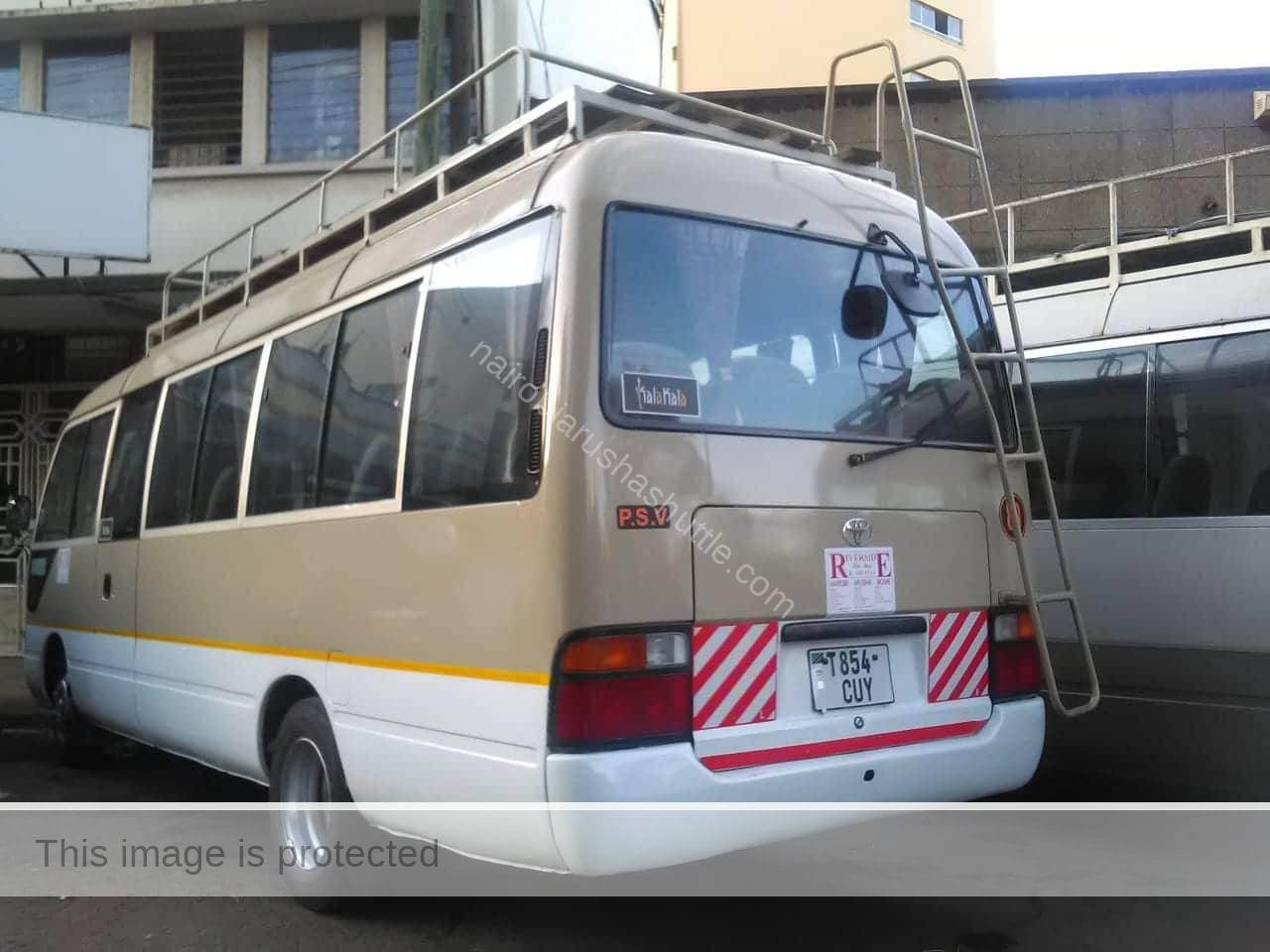 Book a seat to Arusha and Moshi Tanzania